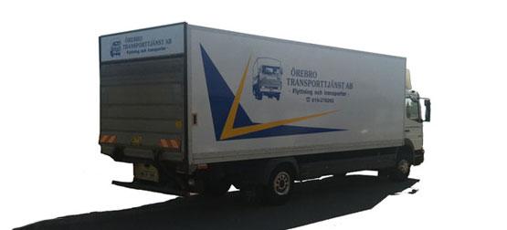 Flyttfirmor - Örebro Transporttjänst AB