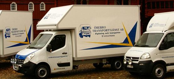 Flyttfirma - Örebro Transporttjänst